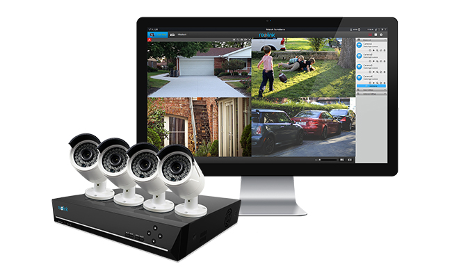 Security Camera System on Rental House
