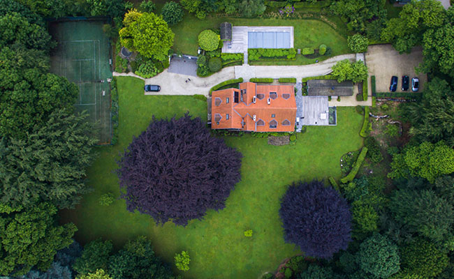Aerial Pictures Taken by a Video Camera Drone