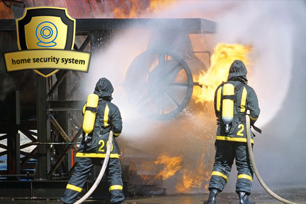 Fire Protection with Home Security