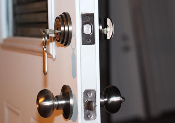 قفل درب جلو ایمن