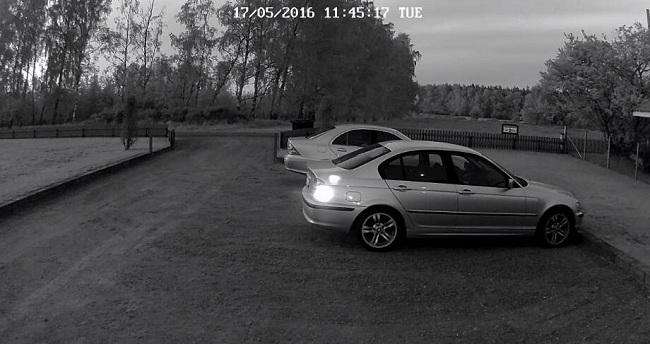 Outdoor Long Range Security Camera Night Vision