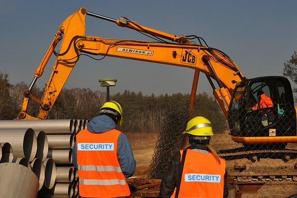 Single-Family Home Construction Site Security Guards