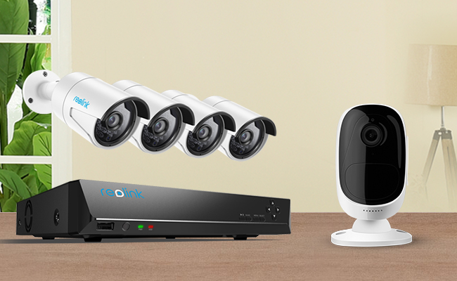 All in One Security Cameras Systems