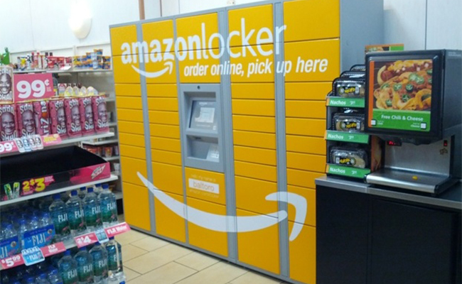 Amazon Locker for Package Theft Prevention