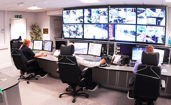 Casino Surveillance Room