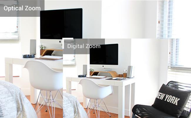 Optical Zoom VS Digital Zoom
