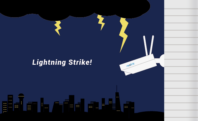 Protect Outdoor Camera from Lightning