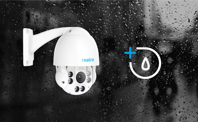 Pan Tilt IP Cameras with Waterproof