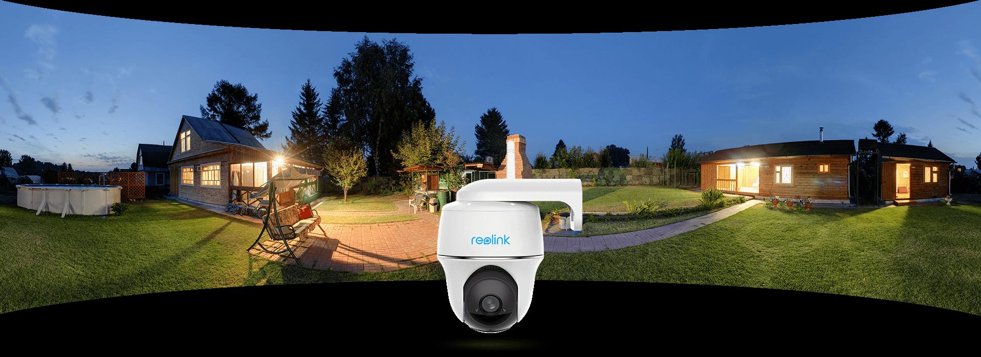 Argus PT kabellose IP Kamera mit 355° Schwenk & 140° Neigung