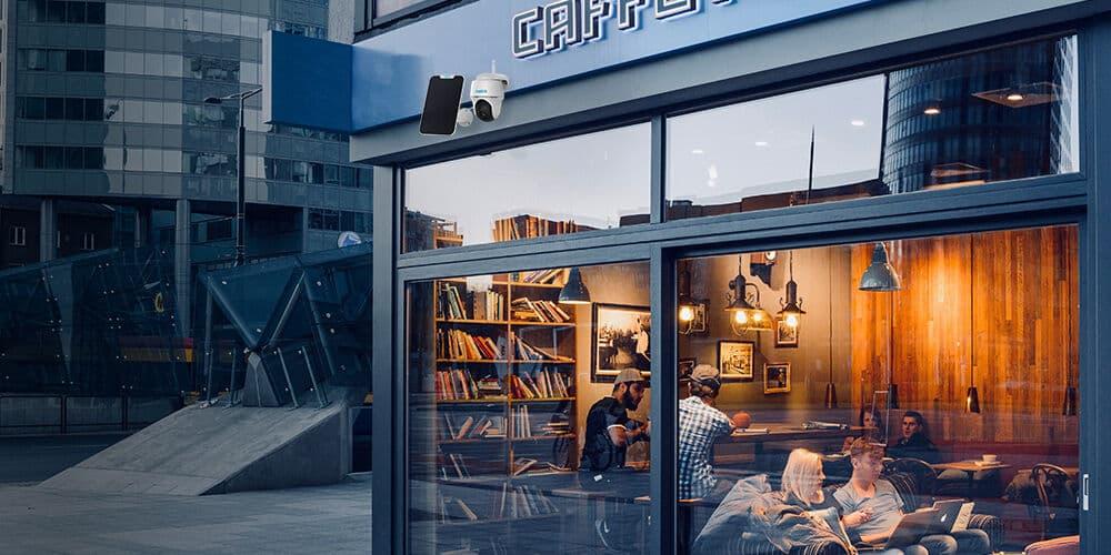 Argus PT kabellose Außenkamera für Shop