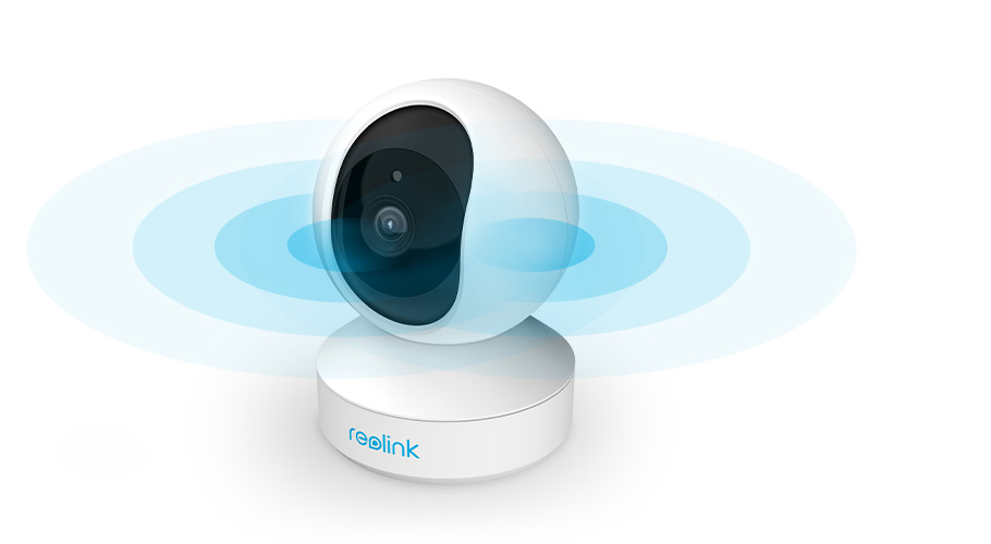 Wireless PT Surveillance Camera with 2.4/5 GHz WiFi