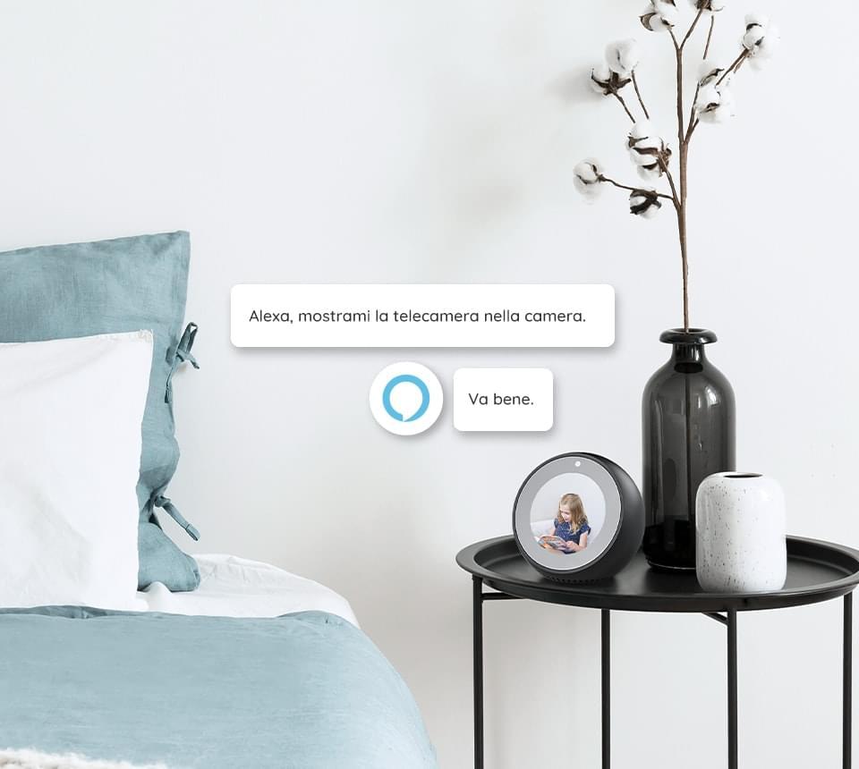 Telecamera di sicurezza compatibile con Alexa