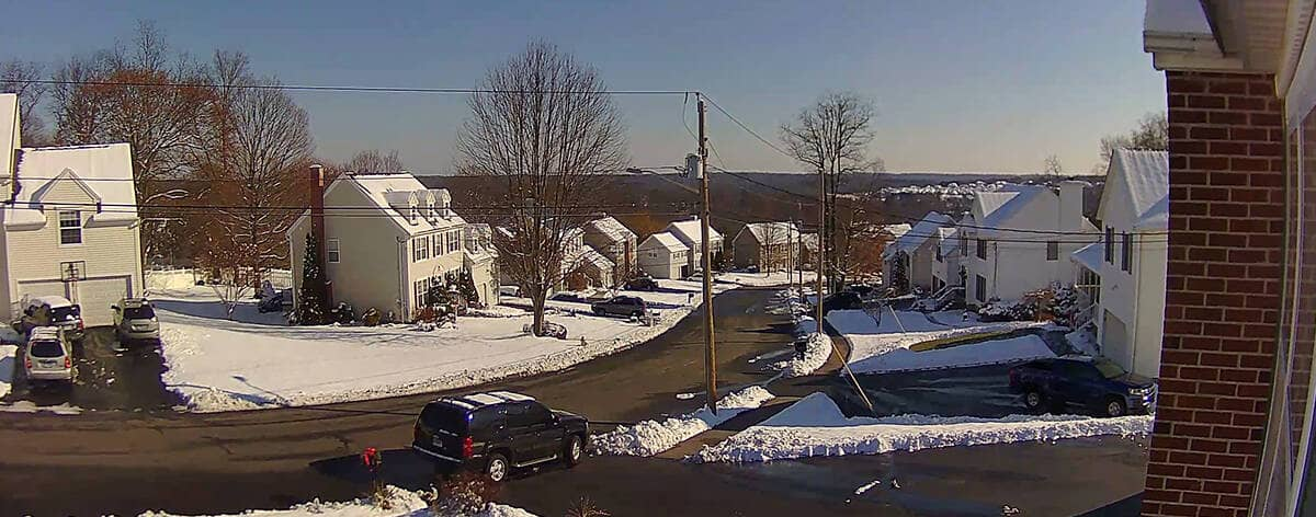 5MP PoE Indoor Outdoor Überwachungskamera mit optischem Zoom