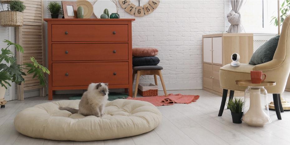 Super HD Wireless PTZ Smart Home Pet Camera