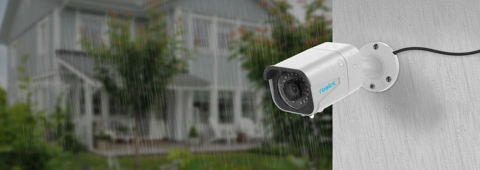 IP66 wetterfeste 4K Outdoor Überwachungssystem