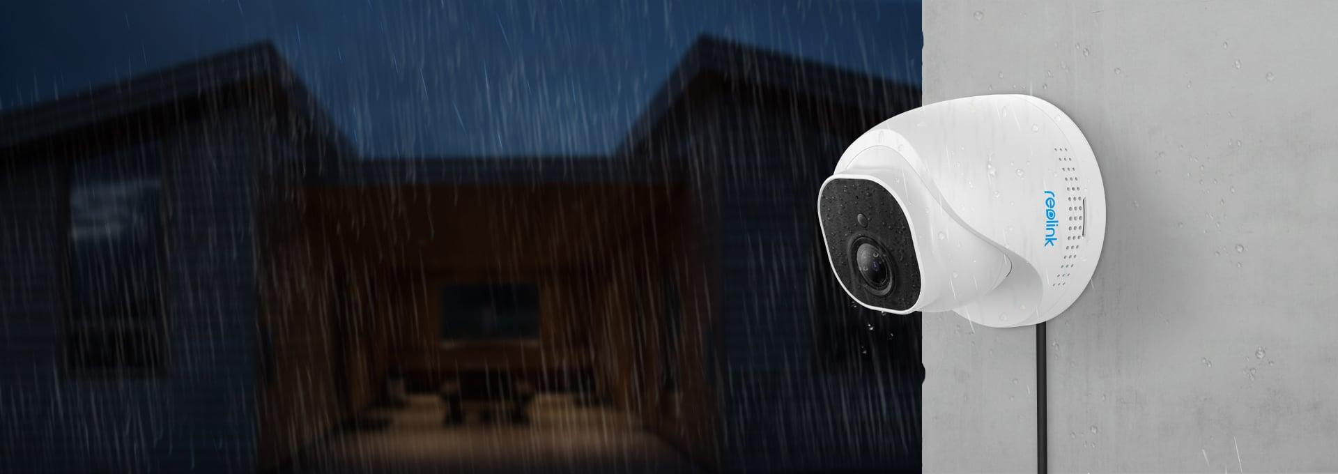 Wetterfeste 4K CCTV Kamerasystem für Außenbereich