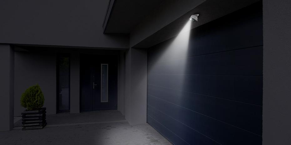 Caméra de Surveillance Sans Fil Intelligente pour Maison avec Projecteur de Mouvement