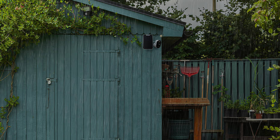 Smart Home Spotlight Überwachungskamera