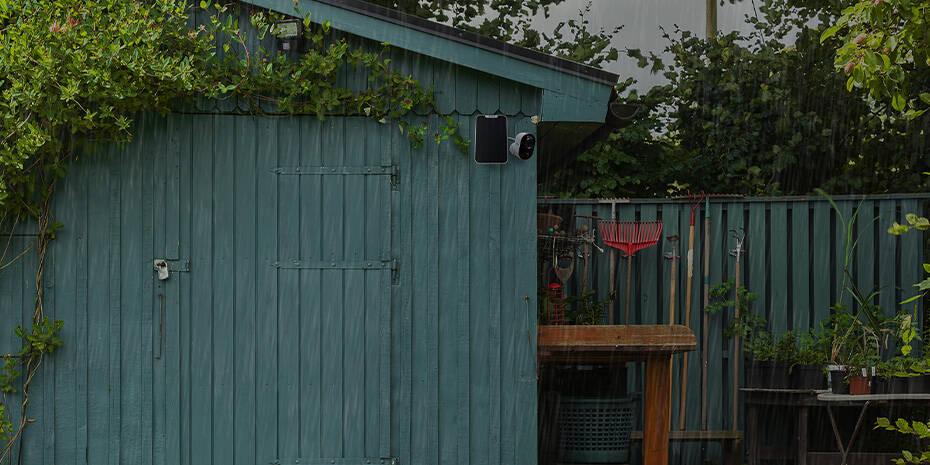 Caméra IP Sans Fil Intelligente pour Maison avec Projecteur