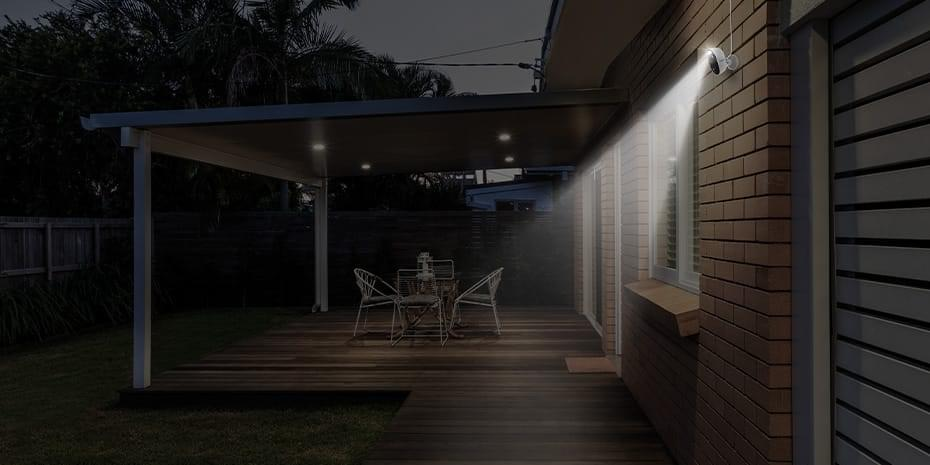 Outdoor WiFi Security IP Camera with Motion Spotlight