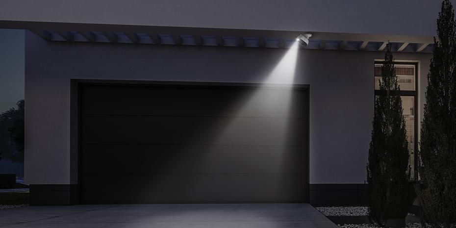 WLAN Smart Home Überwachungskamera mit Licht