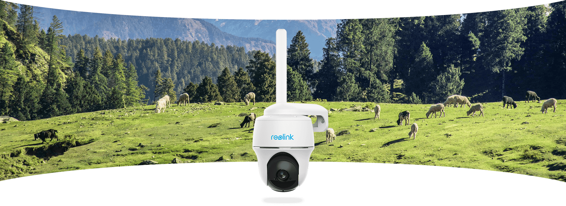 Pan Tilt 4G Outdoor CCTV Camera with Ultra-Wide Viewing Angle