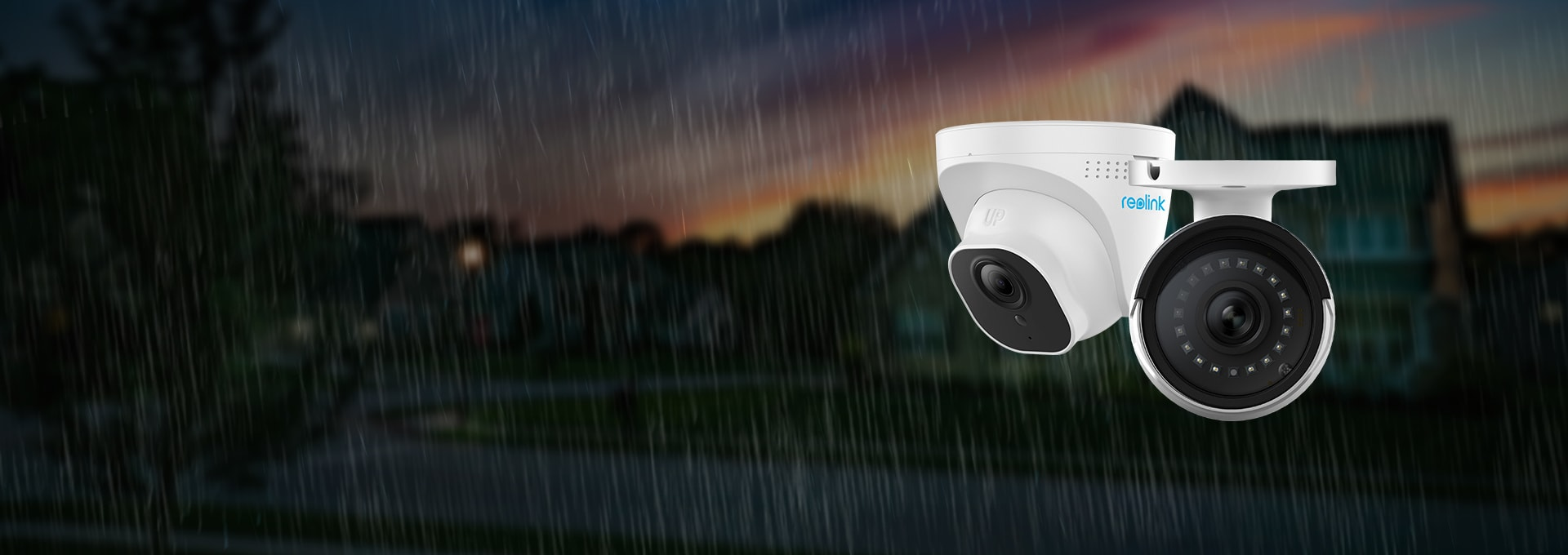 IP66 Waterproof 5MP Outdoor Indoor Security Camera System