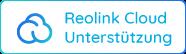 Arbeitet mit Reolink Cloud