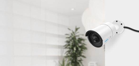 5MP PoE Security IP Camera with Audio Recording