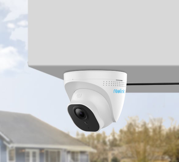 5MP Security IP Camera with PoE and Night Vision