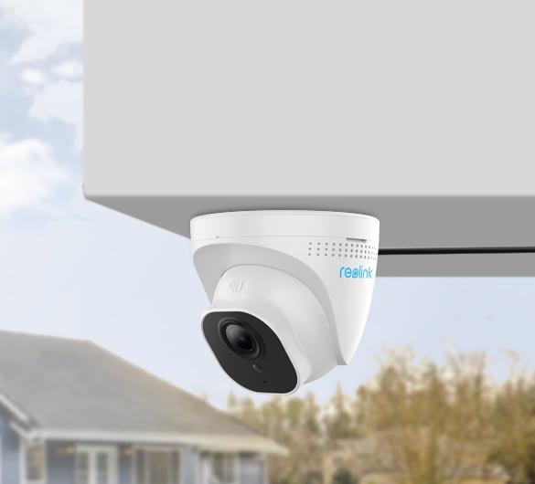 5MP IP Überwachungskamera mit PoE und Nachtsicht