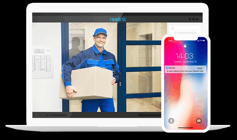 4K AI PoE Smart Home Outdoor Indoor IP Camera