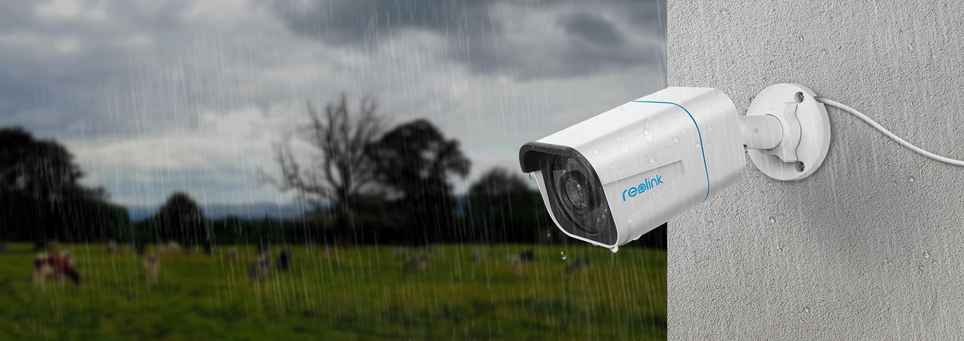 IP66 wetterfestes 4K Überwachungssystem