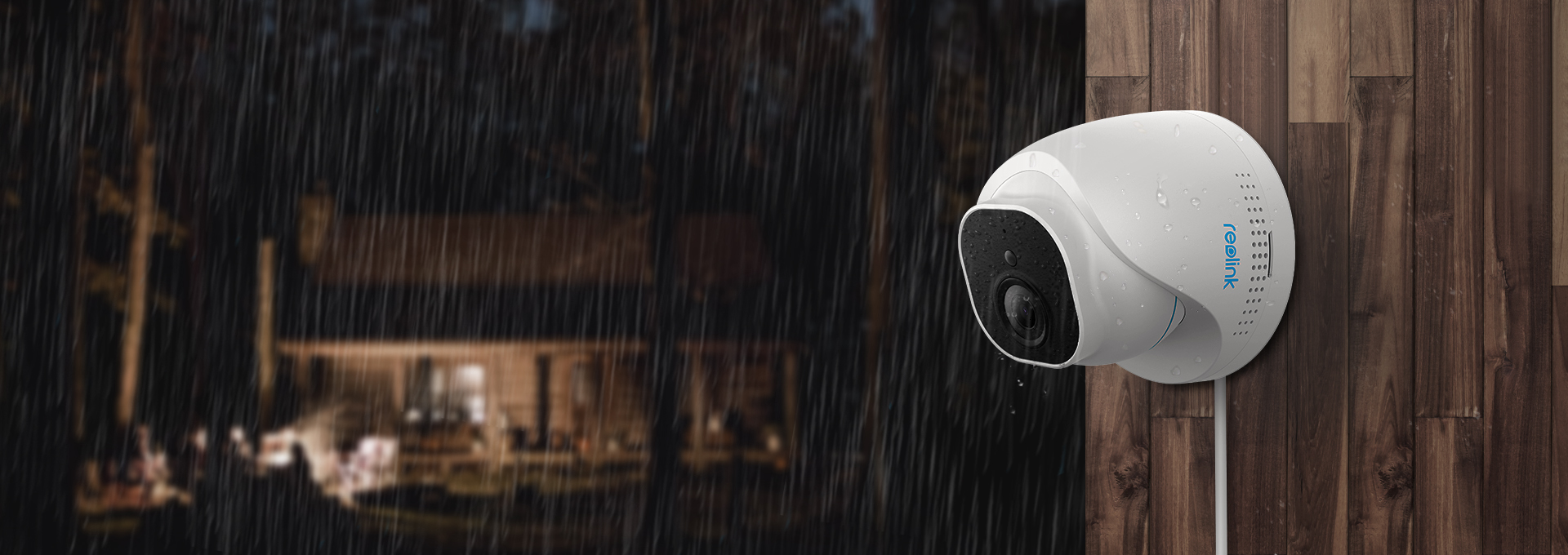 IP66 Waterproof 5MP Outdoor Indoor AI Security Camera System