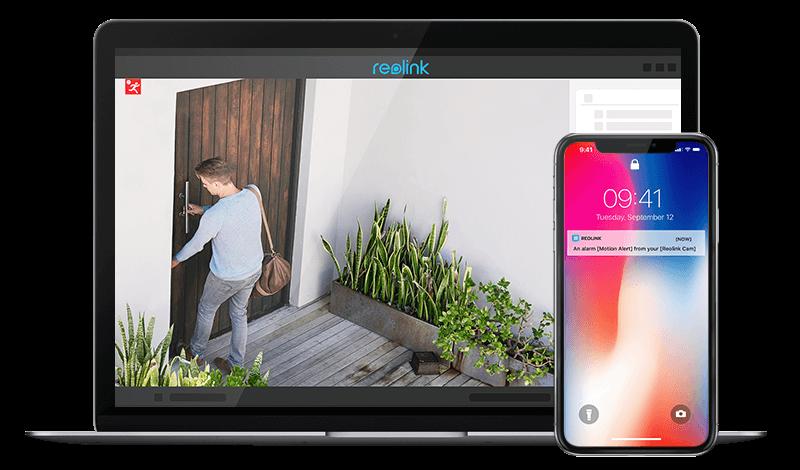 5MP PoE Smart Home Outdoor Indoor IP Kamera
