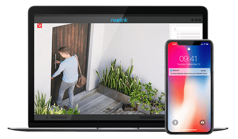 12MP PoE Smart Home Outdoor Indoor IP Camera System