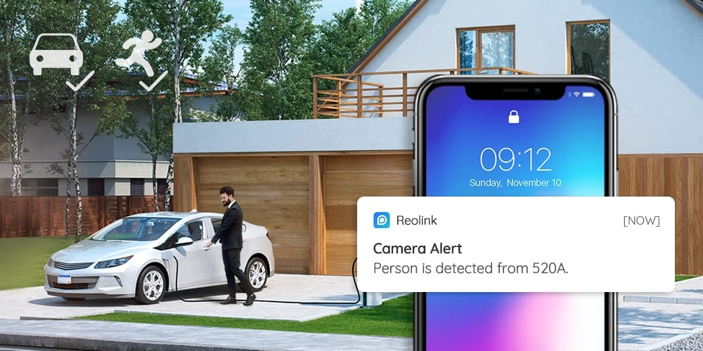 AI 5MP Smart PoE Security IP Camera