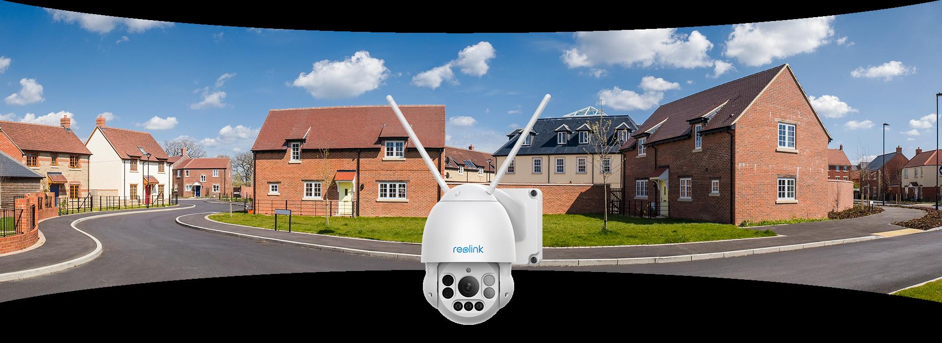 Wireless Pan Tilt Outdoor Home Security Camera