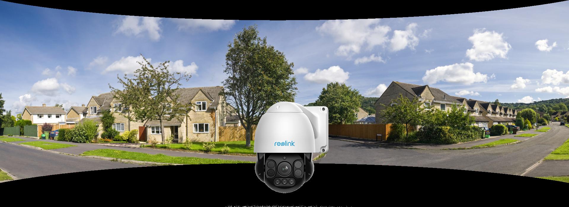 Smart PoE Pan Tilt Home Security Camera