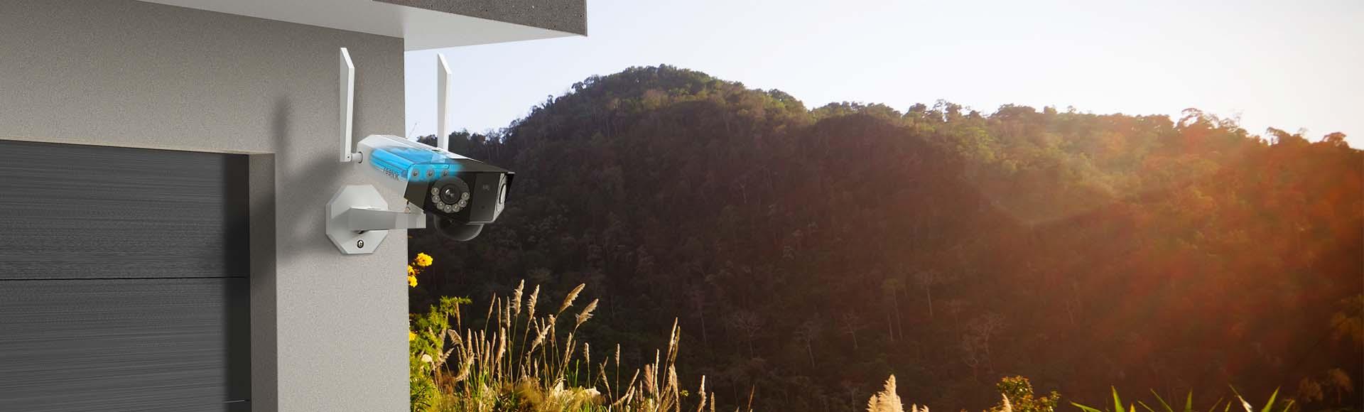 Battery/Solar Powered Eco-Friendly Security Camera