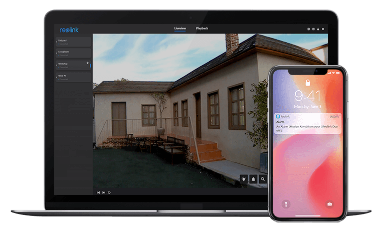 2K PoE Smart Home IP Camera for Indoor & Outdoor Use