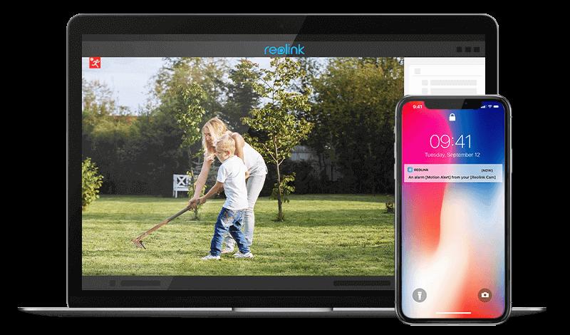 8MP Smart Home Outdoor Indoor IP Camera System