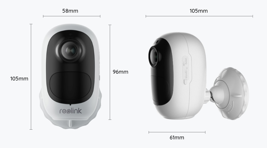 Argus Series Wire_Free WiFi Battery Powered Security Camera