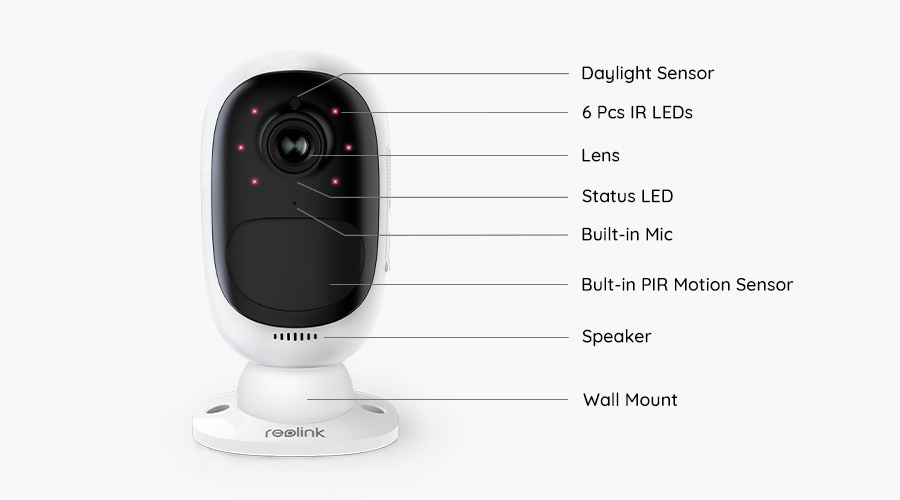 Argus 2 Battery Powered Or Solar Powered Security Camera