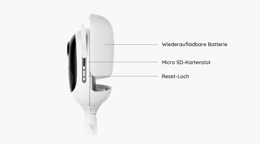 Reolink Argus Pro WLAN IP Kamera mit Akku - Grafik