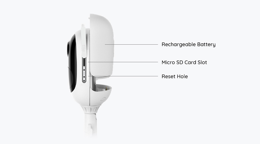 Argus Series Wire_Free Solar Powered Battery Security Camera