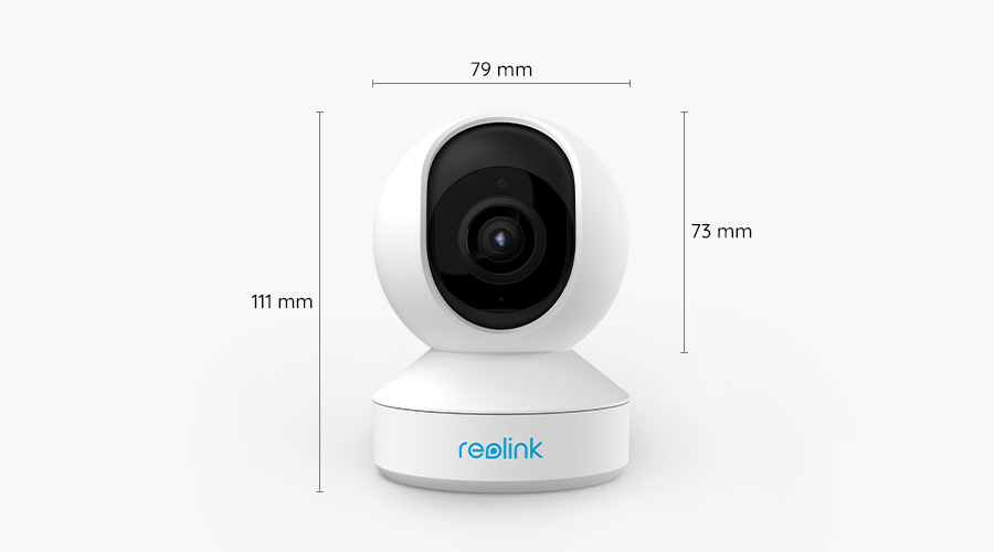 Wireless Pan Tilt Zoom Smart Home Camera