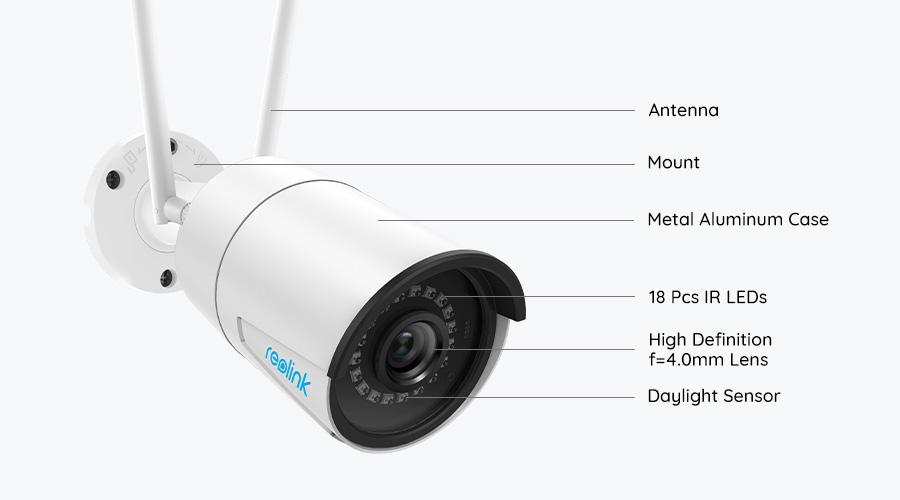 Dual Band WiFi Wireless Security Camera
