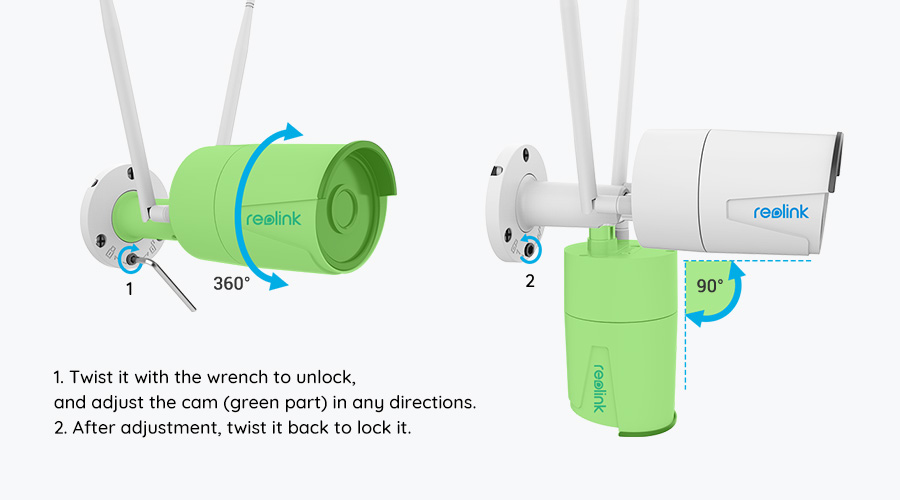 Dual_Band Outdoor WiFi Home Security Camera Installation