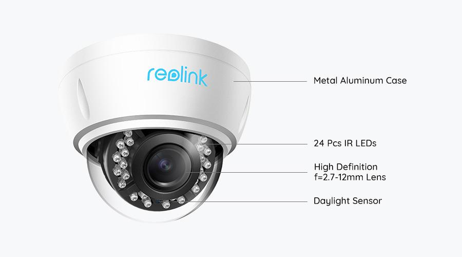 5MP PoE Outdoor Home Surveillance Camera